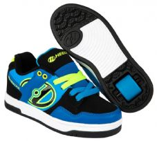 Heelys Flow Royal/Black/Lime